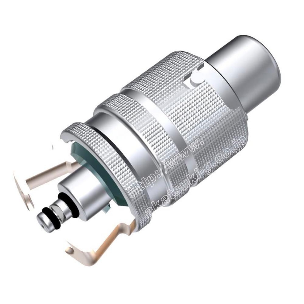 ヘリウムリーク(漏れ)検査用 ワンタッチカプラー  CHシリーズ(ラチェットタイプ)